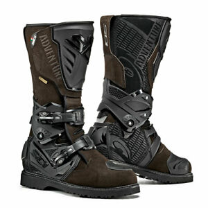 Sidi-Adventure-2-Gore-Tex-GTX-Waterproof-Offroad-ADV-Motorcycle-Boots-Brown