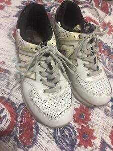 97651a4079b43 Limited Edition New Balance ML574 White Moon Shoes 8.5 Glow In Dark ...