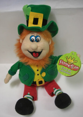 L/'Irlanda Finnegan King of the leprecauni 10 pollici GIOCATTOLO MORBIDO FOLLETTO