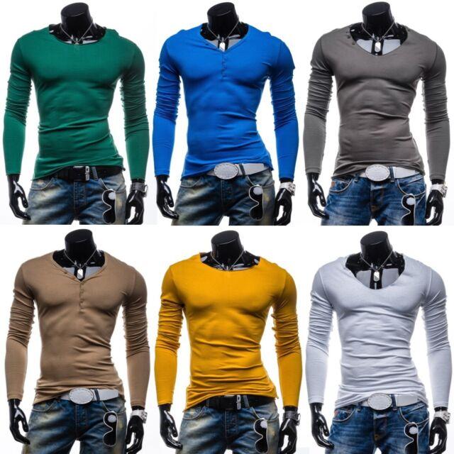 STEGOL Herren Longsleeve Langarm Sweatshirt Men Pullover T-shirt MIX 1A1 Shirt
