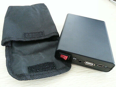 New Mobile Power Box USB 5V 2A 4x18650 Battery Charger Case with canvas bag