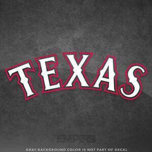 Texas rangers jersey logo vinyl decal sticker mlb 4 and - Texas rangers logo images ...
