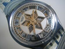 DECOSCRAPER! N.Y.'s CHRYSLER BUILDING Swatch! NIB-RARE!