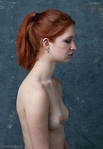 Fine Art Nude Photo, signed fiber print by Craig Morey: Calico 003-0060