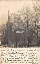 B85/ Emporium Pennsylvania Pa Real Photo RPPC Postcard c'10 M.E. Church Building