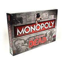 The Walking Dead SURVIVAL EDITION Monopoly Board Game Same Day Shipping