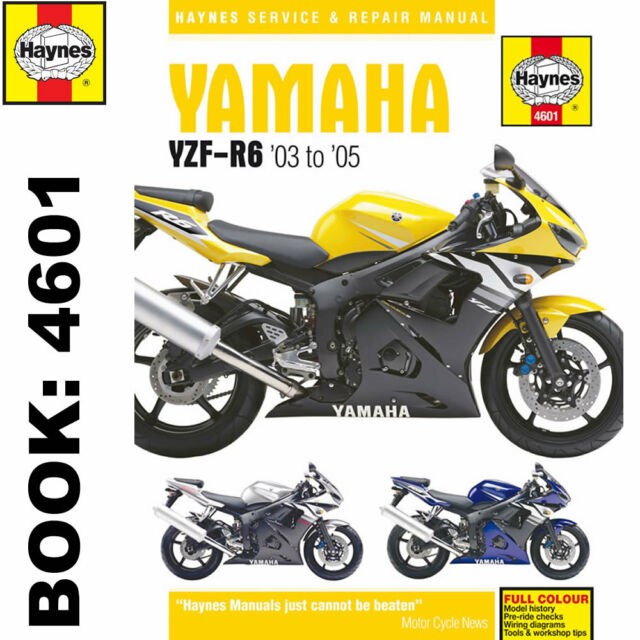 yamaha r6 03 05 5sl haynes maintenance workshop manual 4601 ebay rh ebay co uk yamaha r6 manual 2005 yamaha r6 manual 2000