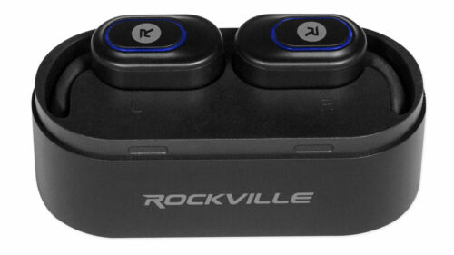 Wireless EarBuds Rock N Roller RSA-HBR6 Tripod//Mic//Speaker Stand Accessory Bag
