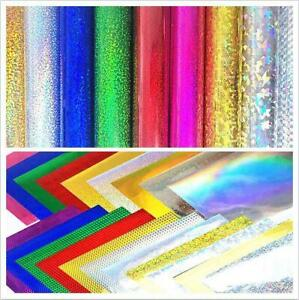 mix of colours 100 x A4 Sheets of Self Adhesive Vinyl