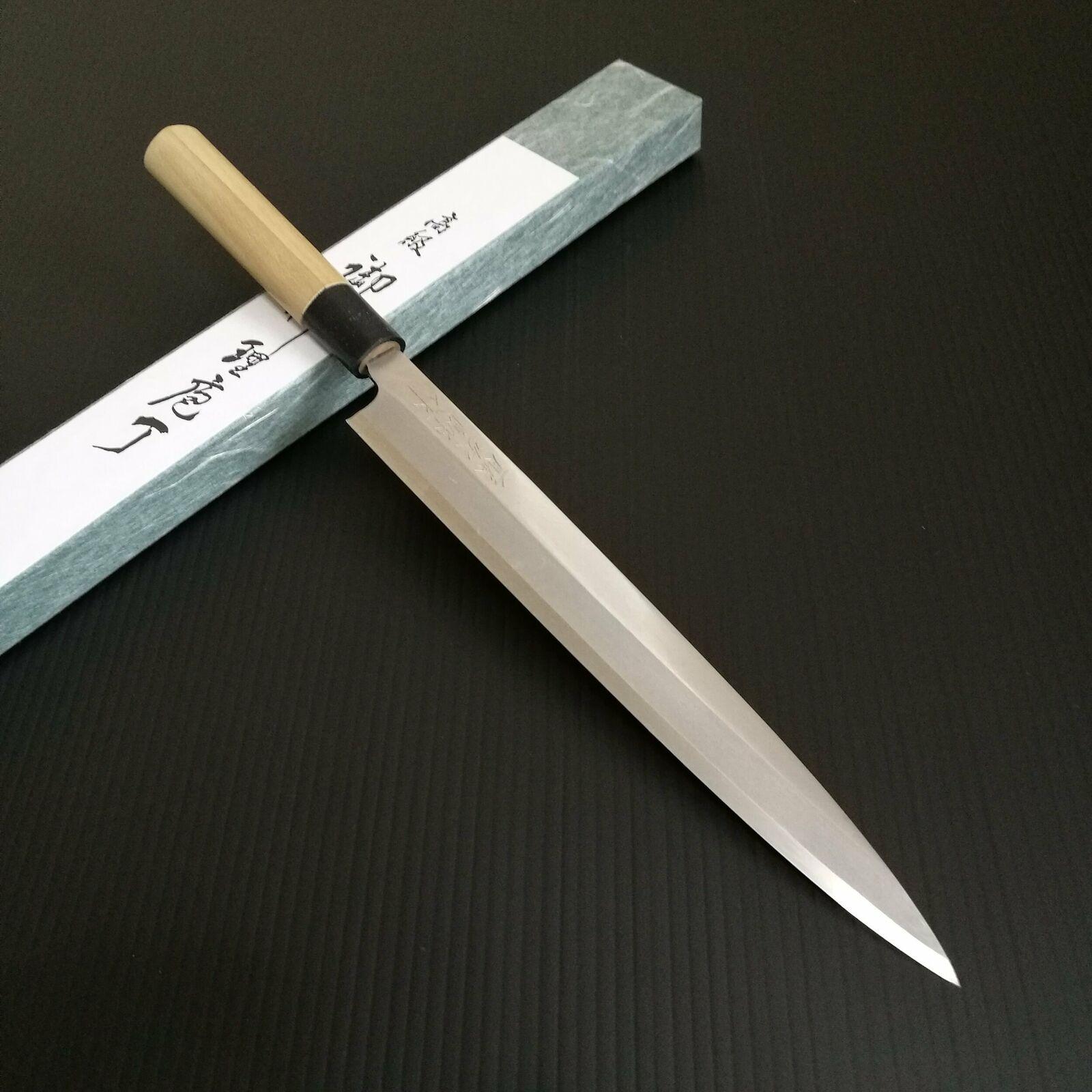 Tojiro shirogami Blanc Hagane Acier Yanagiba Knife 240 mm