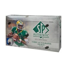 2012 Upper Deck SP Authentic Football Hobby Box Russell Wilson RC
