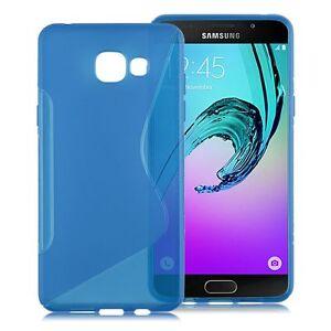 coque samsung a5 2016 silicone bleu