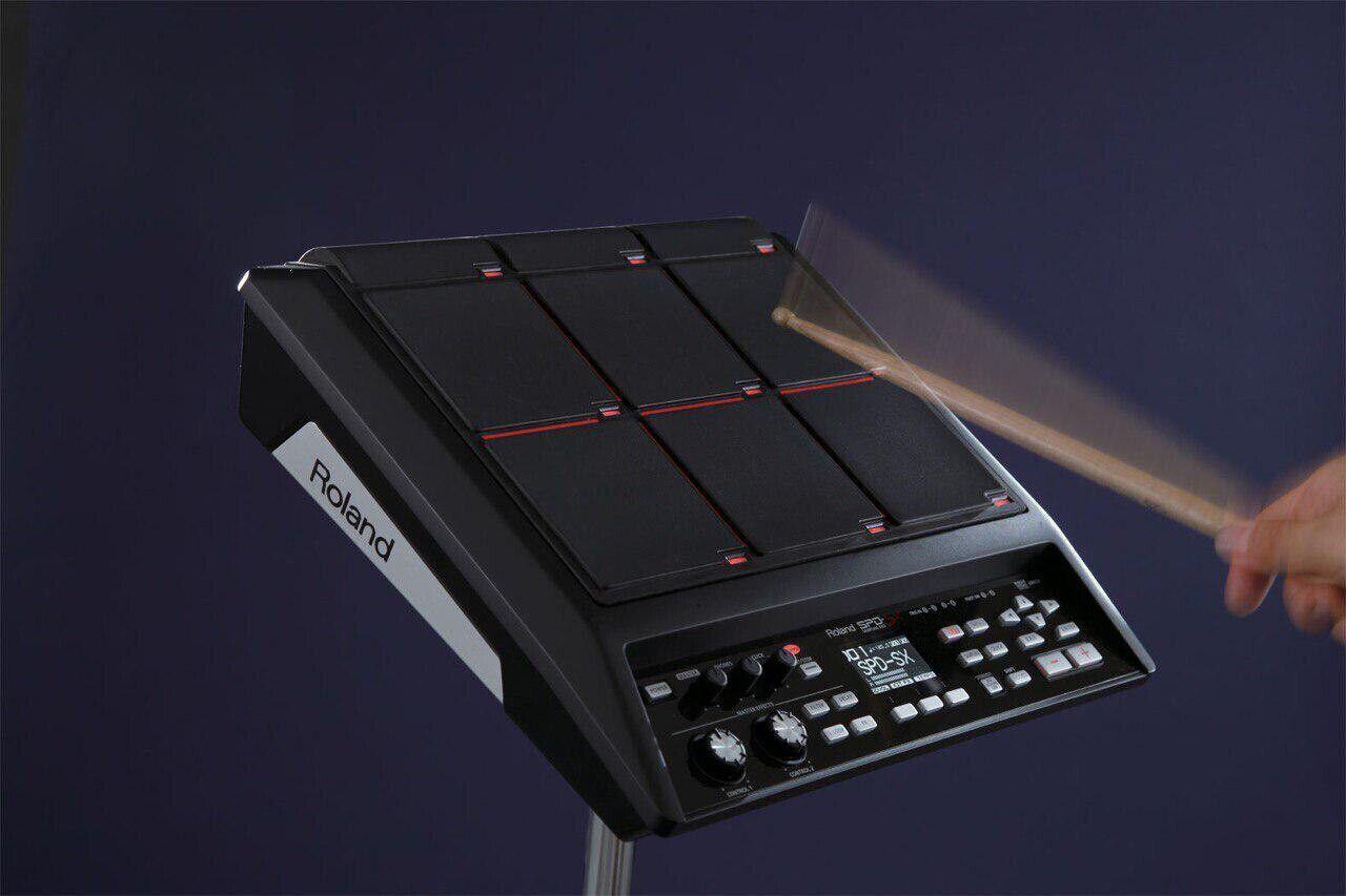 Roland SPD-SX Sampling Pad,PERCUSSION,INSTRUMENT MIT Roland PDS-10 Ständer