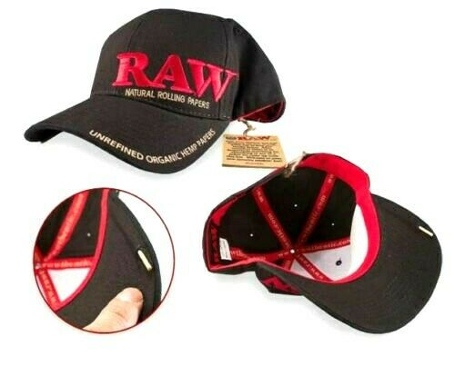 RAW Rolling Papers Baseball Snapback Smokers Cap With Packing Tool Branded New