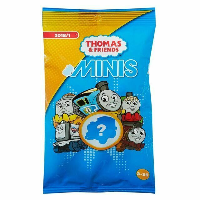 Unopened 3 x Minis Blind Bag //  Brand NEW 3 x Thomas /& Friends DFJ15 ~