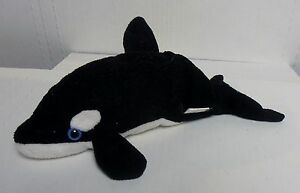 "It's All Greek To Me, Killer Whale, 9"" Stuffed Beanbag Plush Toy, BRAND NEW"