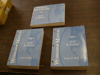 OEM Ford 2010 Econoline Van Shop Manual Books Wiring ...
