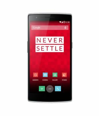 OnePlus One (Sandstone Black, 64GB) Preowned,Scratches+3 Months Seller Warranty