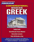 Conversational Modern Greek by Pimsleur (CD-Audio)