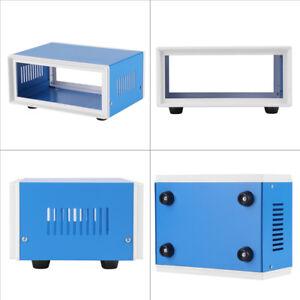 170-130-80mm-Blue-Metal-Enclosure-Project-Case-DIY-Junction-Box-DH