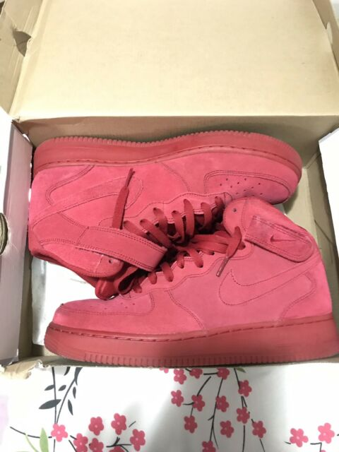 1 Red Force 315123 10 Air Suede October Nike 609 Sz Mid Af1 Gym White 5 '07 jpLSzVGMqU