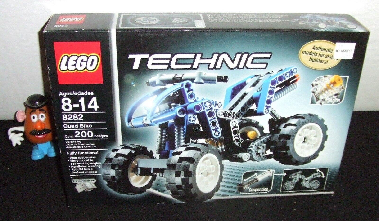 LEGO TECHNIC QUAD QUAD QUAD BIKE   3 WHEEL CHOPPER 200pc BOXED SET 2006 NEW UNOPENED a0c3e7
