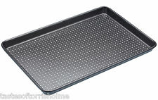 Masterclass Perforated Crusty Bake 39cm x 27cm Non Stick Large Baking Sheet Tray