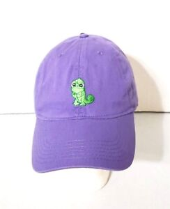 Image is loading Disney-Parks-Tangled-Rapunzel-Pascal-Purple-Adult-Baseball- b1b6b0deb1b