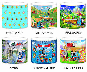 Thomas the tank engine lampshades ceiling light table lamp bedding image is loading thomas the tank engine lampshades ceiling light table mozeypictures Images