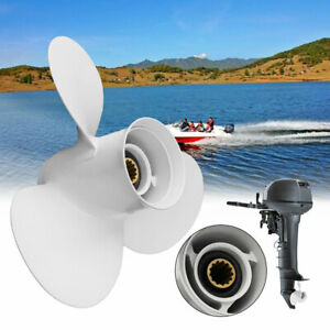 YAMAHA-11-3-8-x-12-g-Propeller-Prop-40-50-60HP-OUTBOARDS-3-Blade-Aluminum
