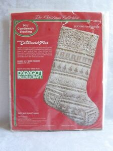 UPSCALE-CHRISTMAS-Paragon-CANDLEWICK-14-5-034-STOCKING-TO-BE-QUILTED-NOEL-NEW