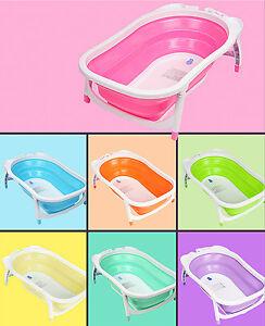 New Karibu Folding Baby Bathtub Various Color Practical