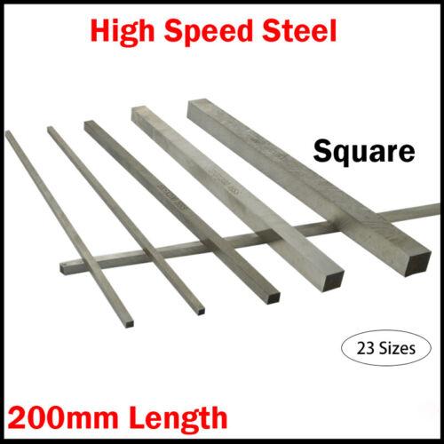 HSS Vierkant Werkzeug Bits für Drehmaschine 3*3MM-6*20MM HSS Quadrat Drehbank