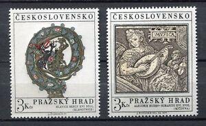 32953) Czechoslovakia 1971 MNH Art 2v Scott #1752/53