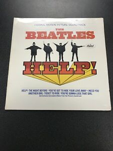 The Beatles Help Capitol Records Factory Sealed Stereo