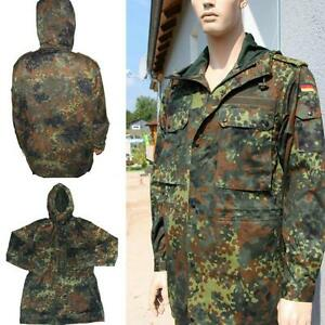 original bundeswehr parka flecktarn bw jacke feldparka neu. Black Bedroom Furniture Sets. Home Design Ideas