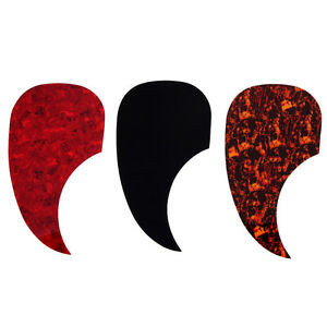 3pcs acoustic guitar pickguard pick guard self adhesive scratch plate shell ebay. Black Bedroom Furniture Sets. Home Design Ideas