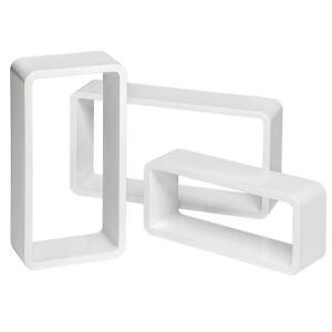 Lot-de-3-etageres-cubes-murales-bibliotheque-MDF-salon-lounge-CD-retro-blanc