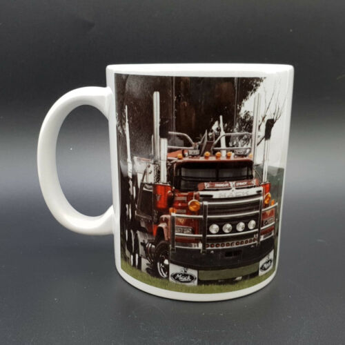 Gift Boxed Mack Superliner Thunderstruck White Ceramic Photo Classic Coffee Mug