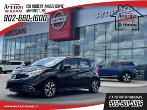 2015 Nissan Versa 1.6 SR-$85 B/W   AS-TRADED    ALLOYS   SPOILER   L