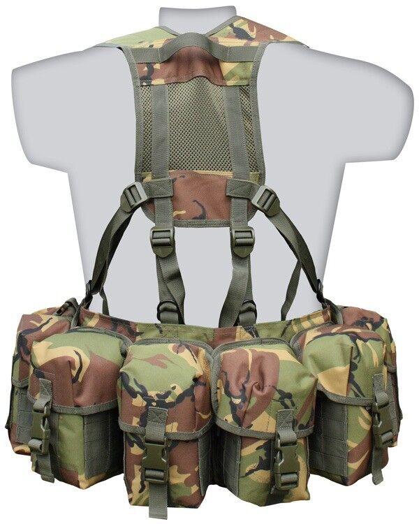 Airborne Sangles Rembourré Réglable Molle Ceinture Pochettes DPM BTP militaire armée K