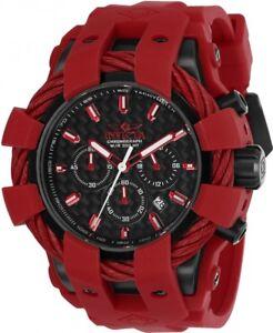 wachawant-Invicta-23870-Bolt-48mm-Quartz-Black-Dial-Men-039-s-Watch