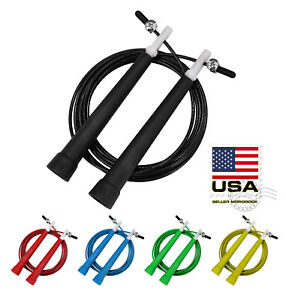 10ft-Adjustable-Steel-Wire-Speed-Skipping-Jump-Rope-CrossFit-Exercise-Fitnesss