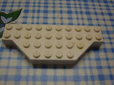 Lego Brick 4x10 without Two Corners 30181 weiss white Platte 6456 mit Ecken
