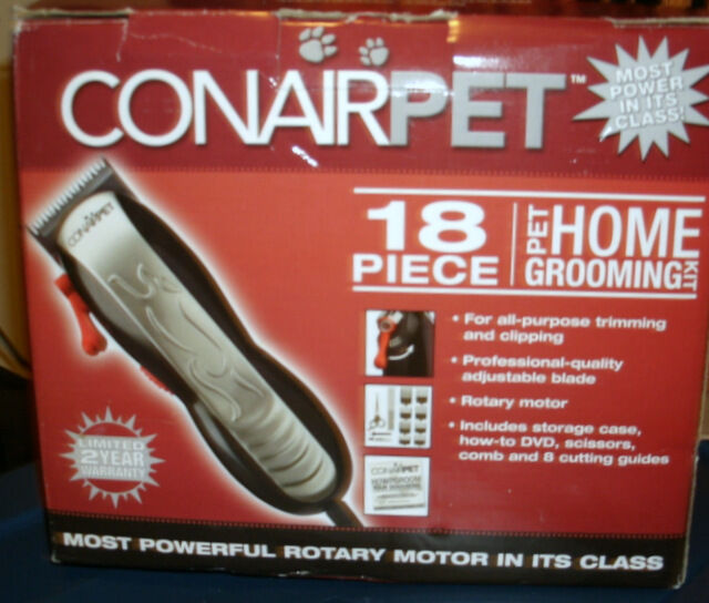 CONAIRPET 18 PIECE HOME GROOMING KIT BRAND NEW IN ORIGINAL MANUF BOX