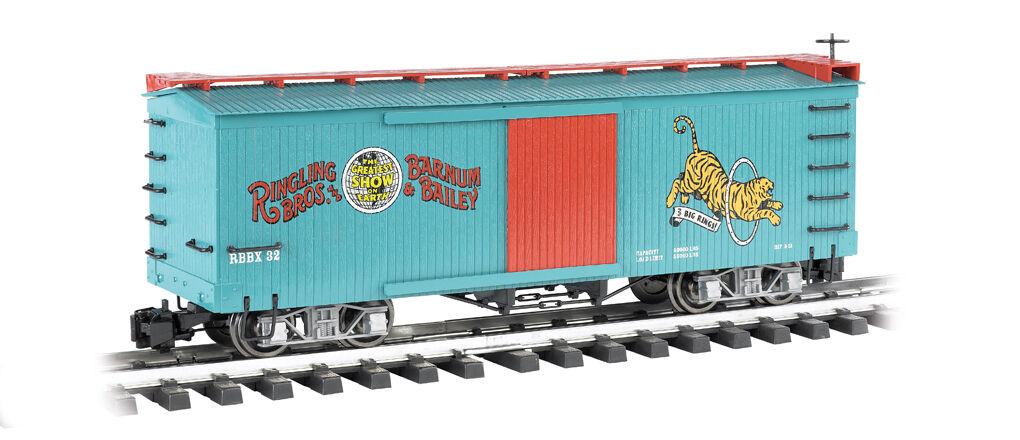 G G G RBBB BOX CAR TIGER BAC92715  (ORGINAL BOX) 73196c