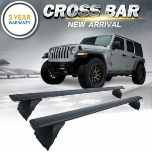 For-2007-2019-Jeep-Wrangler-JK-JL-Roof-Rack-Cross-Bar-Cargo-Carrier-OEM-Replace