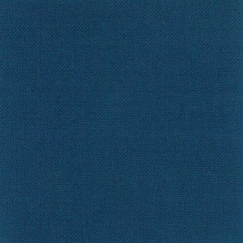 Moda Fabric Bella Solids Prussian Blue Per 1//4 Metre