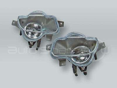TYC Front Fog Lights Driving Lamps Assy PAIR fits 2005-2007 VOLVO V70