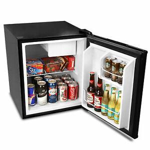Frostbite Zero Degrees Mini Fridge with Icebox 49ltr Black - Mini Bar Fridge